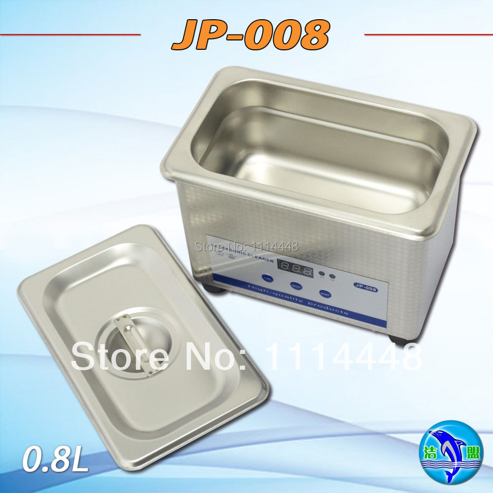 New Household Ultrasonic Cleaning Machine 0.8L 50W Jewelry Watch Denture Glasses Ultrasonic Cleaner JP-008 600ml 220v ultrasonic cleaning machine washes glasses household denture jewelry watches main board cleaner