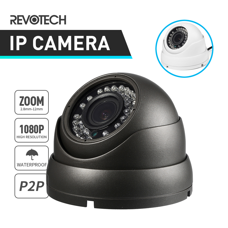 Waterproof 1080P IP Camera Auto 4X Motorized 2.8-12mm Zoom 2.0MP 36 LED IR Night Vision Outdoor Security ONVIF P2P CCTV Cam
