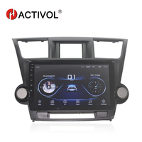 HACTIVOL 10.1 Quadcore Car radio for Toyota Highlander Kluger 2008 2012 android 8.1 car DVD player with 1G RAM 16G ROM