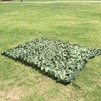 3x9 м палатки зеленый камуфляж солнце приют Зонтик Net корешок с сети сетки для Охота Пеший Туризм Рыбалка зонт автотентами