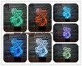 3D Elsa/Anna Miúdo Dos Desenhos Animados figura Bulbificação Lâmpada Luz Da Noite Colorido Dispositivo CONDUZIU a Iluminação Para Casa Decoração Do Quarto a luz Da Noite Presentes criança