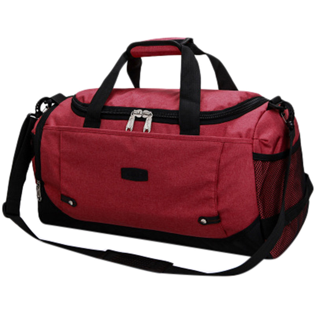 Oxford Men And Women Travel Handbag Luggage Bags Outdoor  Multifunction Portable Storage Shoulder Bag 6.11