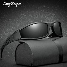 Larga Arquero Eyewears gafas de Sol Polarizadas Para Hombres de Calidad Superior Anti-Glare UV400 Gafas de Sol gafas de sol hombre polarizadas marca