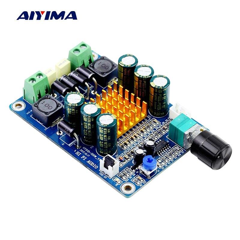 Aiyima Ceiling Speaker Amplifier Board 100w Class D Mono