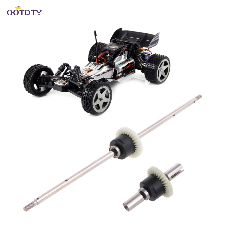 Wltoys 12428 12423 1 12 RC Car Spare Parts Front Rear Differential Gear Set ThZ
