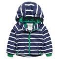 Crianças casacos meninos e meninas manga roupas à prova de vento impermeável casacos de idade primavera e outono 2-14Y