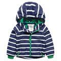 Niños ropa de abrigo Casual para niños encapuchados ropa impermeable a prueba de viento de los bebés y niñas chaquetas para la edad 2-14Y de primavera y otoño
