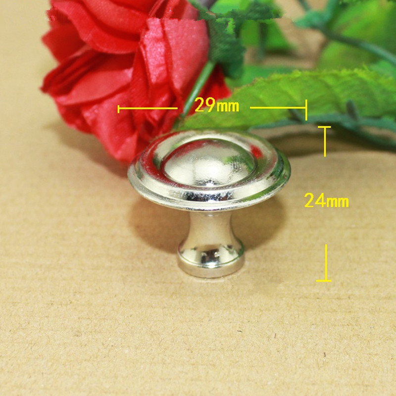 Wholesale Modern Silver Color Handle Alloy Knobs and Mini Handles Door Handle Cupboard Drawer Kitchen Pull Knob Furniture,50Pcs