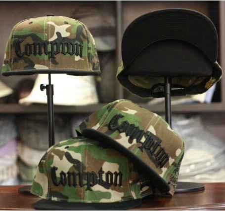 2016 New Trend Fashion Casual COMPTON Snapback Letters Embroidery Hats Camouflage Baseball Caps Bones Hip hop Caps For Men Women 2017 new fashion women men knitting beanie hip hop autumn winter warm caps unisex 9 colors hats for women feminino skullies
