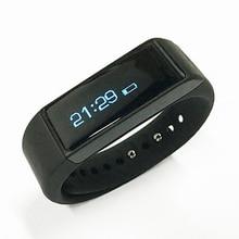 Smart Браслет Bluetooth 4.0 спортивные часы Сенсорный экран фитнес-трекер Здоровый умный Браслет для IOS Android телефона PK I5 группа