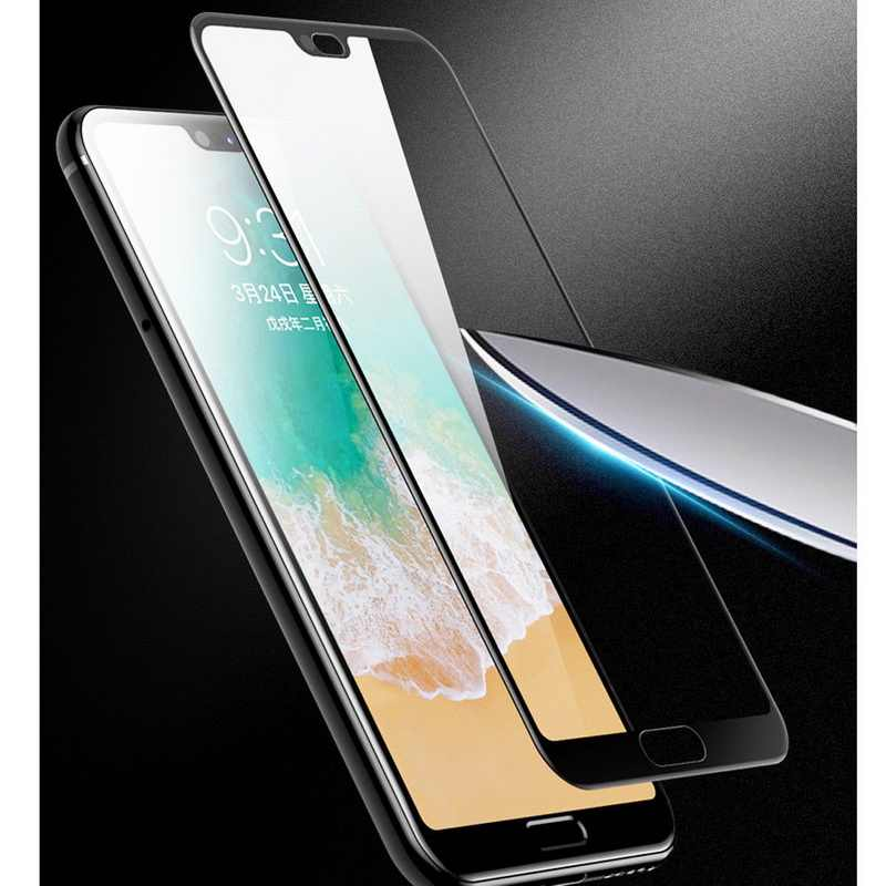 1PC Front Tempered Glass Case for Huawei P20 Pro P20 Plus Ultra Slim Scratch-Resistant Screen Protector Film For Huawei P20 Lite