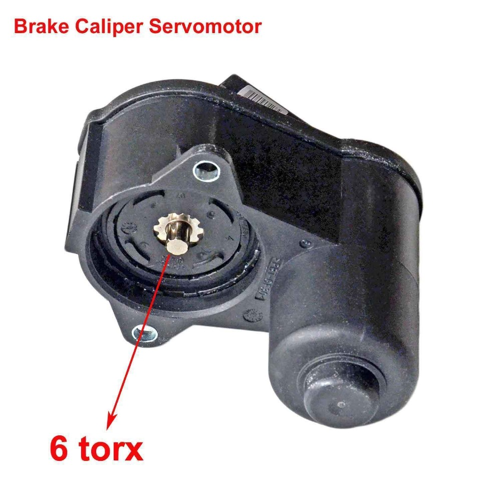 AP01 3C0998281B Caliper ParkingBrake Servomotor 6-teeth For VW Passat B6 B7 Tiguan For Audi A3 CC 3C0998281A  3C0998281 32332267