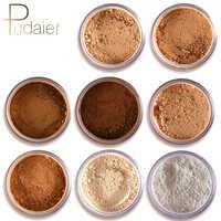 Nouveau pudaier marque huile contrôle poudre maquillage longue durée bronzant mat minéral foncé peau Contour lâche visage poudre