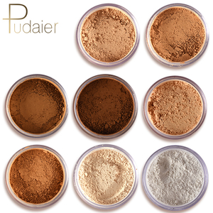New pudaier Brand Oil Control Powder Makeup Long Lasting Bronzer Matte Mineral Dark Skin Contour Loose Face Powder(China)
