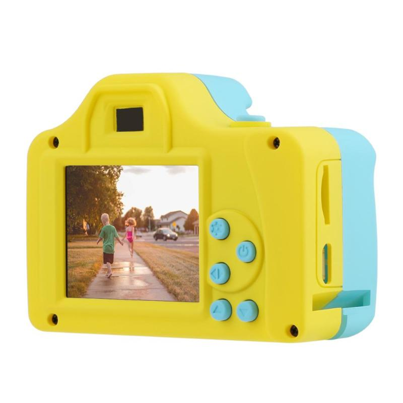 US $19 49 30% OFF|Mini Kids 1 77Inch 32GB Digital Camera Baby Full Color  Mini LSR Cartoon Camcorder Video Recorder Support TF Card Education Toy-in