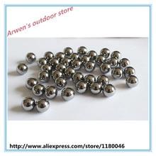 FANTU High Density 5.0mm Fishing Tungsten Beads 18g/cc tungsten Hunting Slingshot Balls high purity tungsten ball Lure Weight