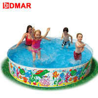 DMAR Family Pool For Kids Infants Baby 244cm Swimming Pool Children Water Toys Baby Bathing Pool