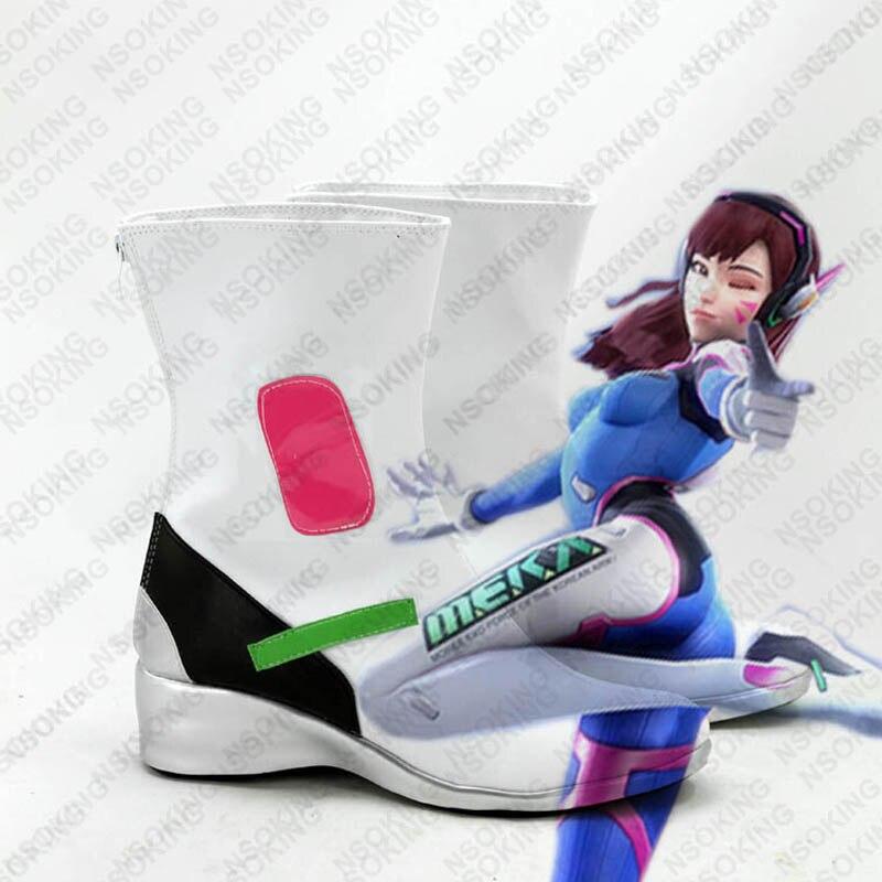 Новая игра D. VA dva Косплэй Обувь Патри Сапоги и ботинки для девочек Индивидуальные