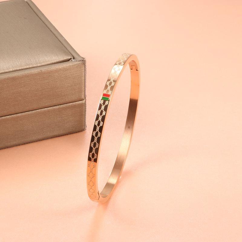 11 (7) - Brassard Breloque, Bracelet Pour Femmes, Acier Inoxydable Plaqué Or 4mm 6mm 8mm,