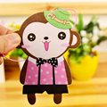 12pcs/lot Paper Car Air Freshener Cartoon 12 Style Smell Long Time Last For Home Office Mixed Car Perfume Free Shipping