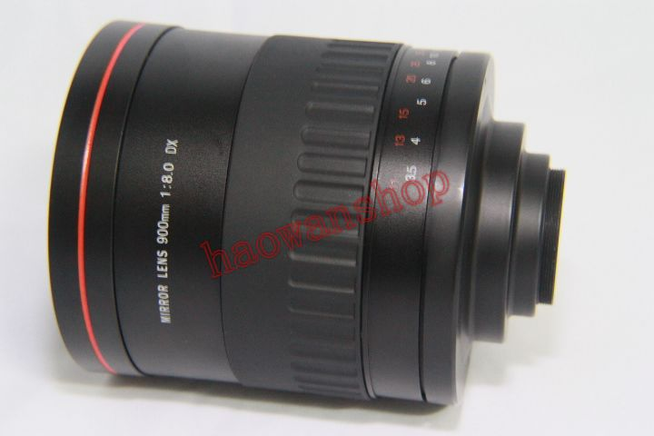 900mm f8 Manual Focus MIRROR TELEPHOTO LENS T mount for Micro 4/3 Panasonic G1 G3 GH1 GF1 GF3 E-P1