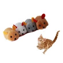 Electric Mouse Tail and Nose movable Pet Toys New Simulation Animal GP160316-13
