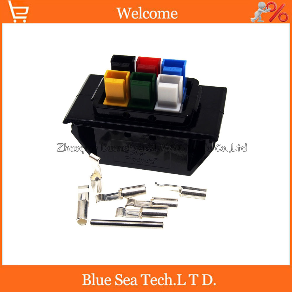 New 6Pin 30A 600V 6Pin /Pole/Wire female PCB Power Connector module Battery Plug kits for UPS forklift electrocar ect.