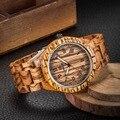 Marca de luxo das Mulheres Dos Homens novos das mulheres dos homens de quartzo analógico relógio orologio relógio fino designer de madeira 2016 de madeira em todo o mundo frete grátis