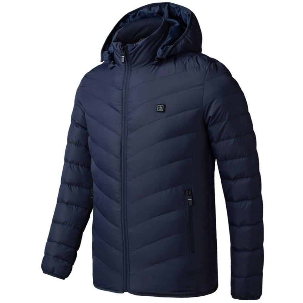 Eléctrico hombre mujer chaqueta chaleco Chaleco de abrigo de mujer de ropa térmica chaqueta Softshell calefacción en invierno ropa