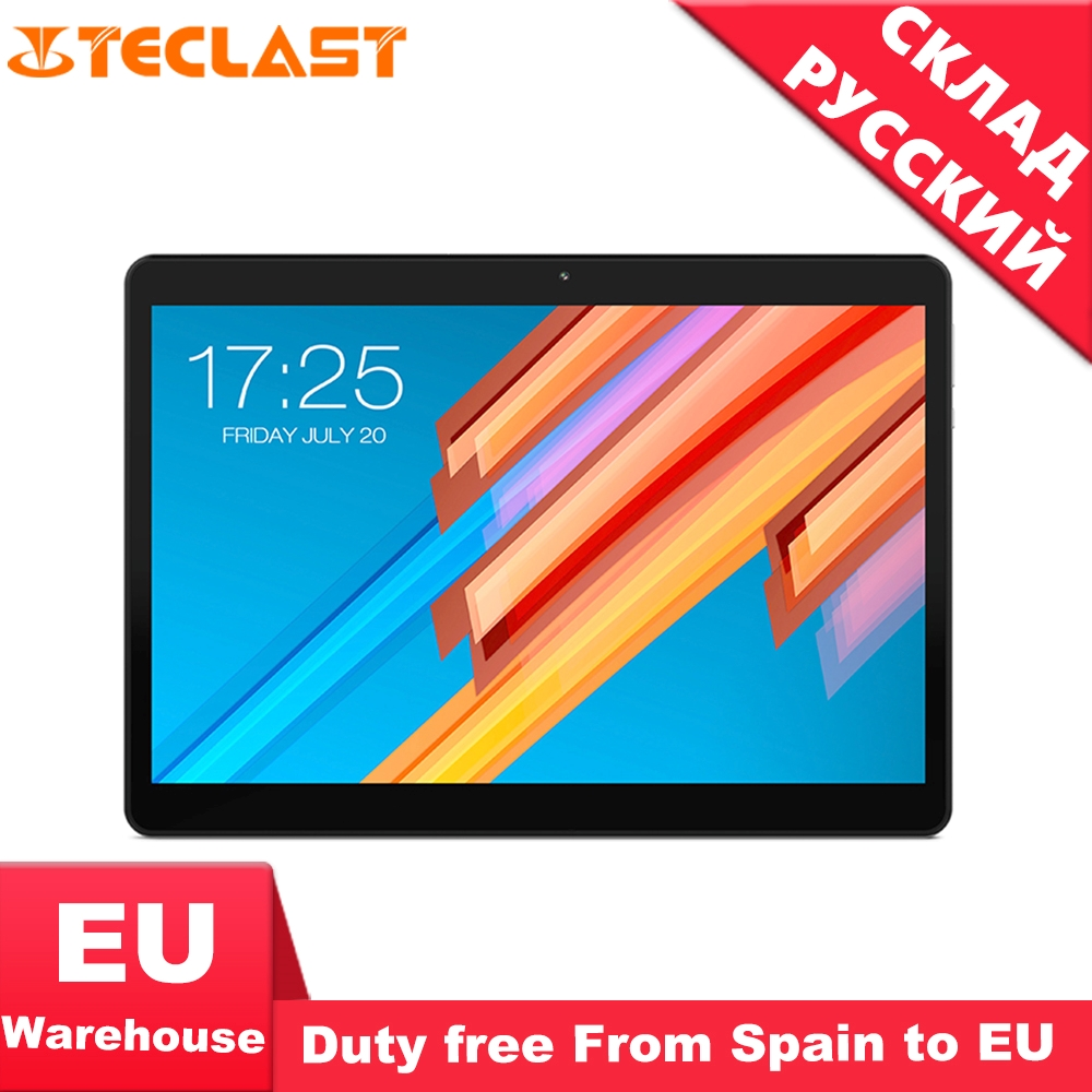 Teclast M20 10.1 Inch 1920*1200 Tablet PC MT6797X27 Deca Core Android 8.0 4GB RAM 128GB ROM Dual 4G Phone Tablets Dual Wifi GPS