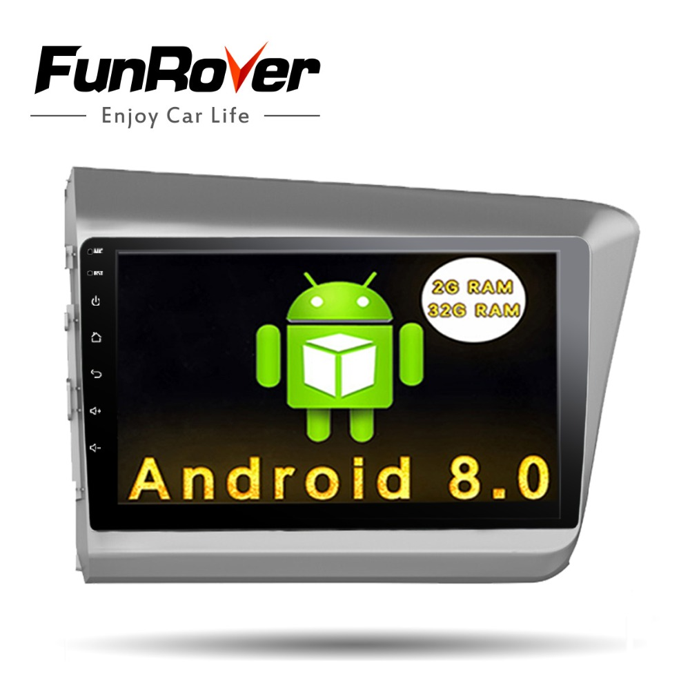 funrover autoradio 2 din car dvd radio gps android 8 0 9. Black Bedroom Furniture Sets. Home Design Ideas