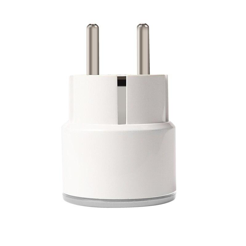 Lonsonho Smart Plug Wifi Smart Socket Outlet Korea EU Plug 10A 2000W Works With Google Home Mini IFTTT Alexa Smart Life