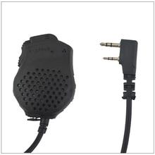 Baofeng Pofoung Dual-PTT Remote Hand speaker MIC Microphone for UV-82,UV-82HX ,BF-888S,BF-UV5R,BF-UVB2Plus,baofeng UV-5R