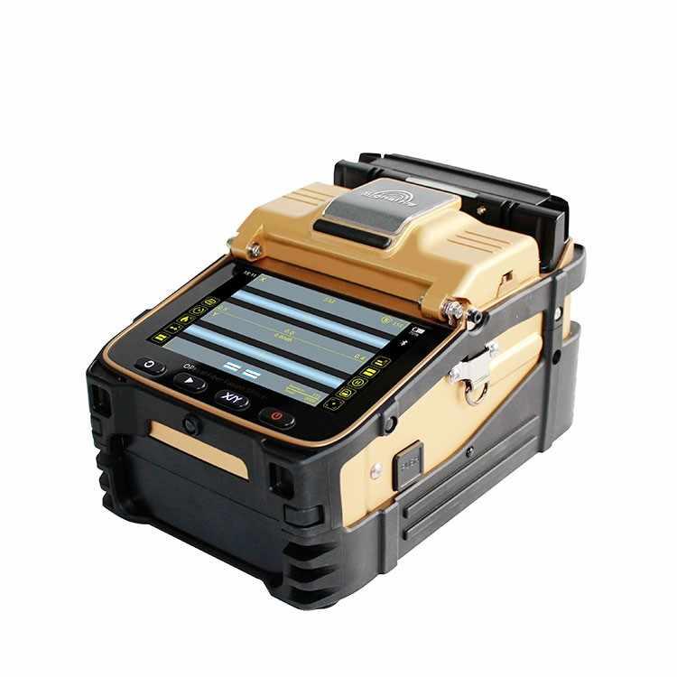 SM & MM AI-8C FTTH máquina de soldadura óptica de fibra óptica empalmador de fusión de fibra óptica