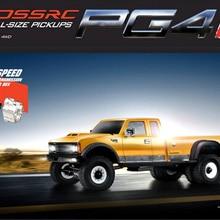CROSSRC PG4L 4WD KIT Американский тяжелый мускул пикап Профессиональная сборка скалолазание RC автомобиль части версия