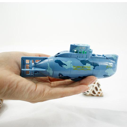 Submarino remoto-ronda de 6 canales de control remoto mini carga inalámbrica barco de juguete eléctrico