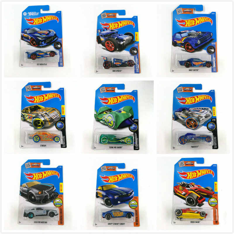 Hot Wheels 1: 64 Sport Auto 2016 Set Metalen Materiaal Body Ras Auto SUBARU WRX ASTON MARTIN Collection Legering Auto Gift Kid NO2-130