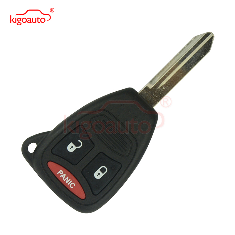 KOBDT04A Remote head key 2 button with panic 315Mhz large button for Dodge Durango Magnum 2005 2006 2007 kigoauto