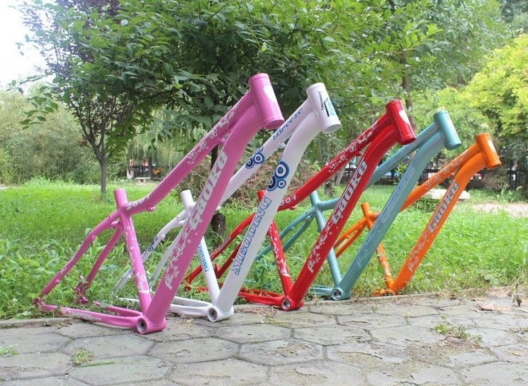 COOL price aluminum alloy lady 26 15 inch disc brake mtb bicycle frame aluminum alloy disc brake 8 9 10 68mm 26 17 42 52mm headset bicycle frame