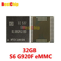 5pcs Lot 100 Original New KLUBG4G1BD E0B1 For Samsung S6 G920F EMMC 32GB NAND Flash Memory