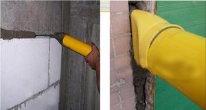 Image 4 - Caulking Gun Mayitr Pointing Brick Grouting Mortar Sprayer Applicator Tool for Cement lime With 4 Nozzles