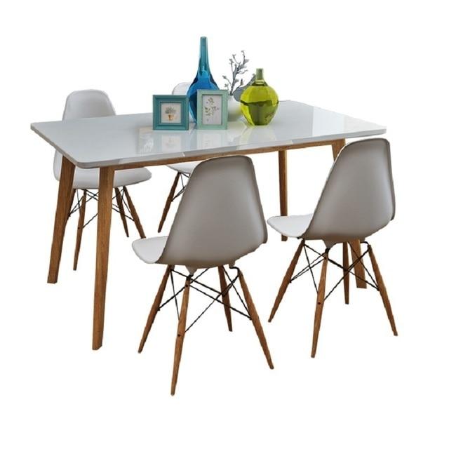 Masa Sandalye De Salle A Manger Moderne Eettafel Tafel Set Meja Makan Tisch Vintage Comedor Desk