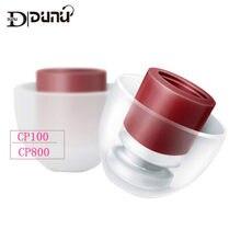 DUNU – oreillettes en Silicone à Rotation libre 360 degrés, 2 paires, brevetées CP100 CP800 CP220 CP230 CP240 CP145 CP100Z