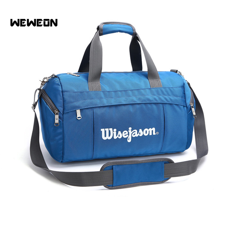 Professional Single Shoulder Gym Bag Sports Fitness Bag Nylon Travel Sports Gym Bag Portable Sport Luggage Bag