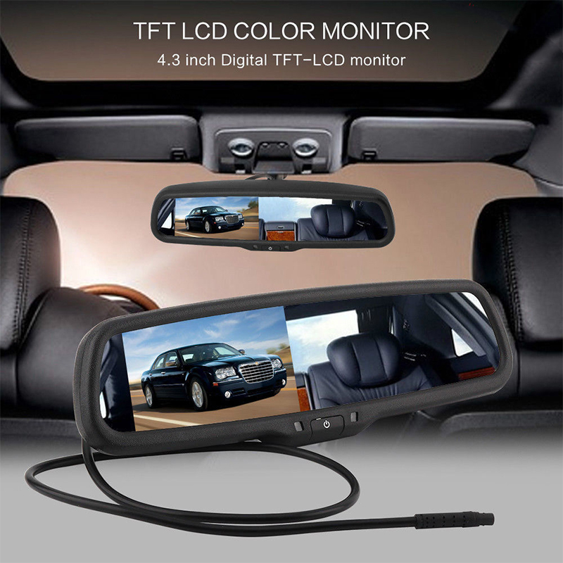 Mirror Dimming Monitor Rear View 4.3