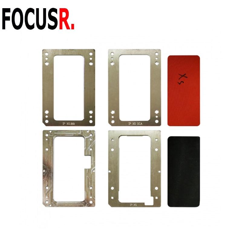 Pour iphone X XS XR LCD stratification moule Lcd positionnement oca polarisant film stratification sous vide pour téléphone portable rénovation de réparation