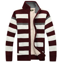The new man thick sweater long-sleeved casual cardigan sweater knitted sweater coat winter mans
