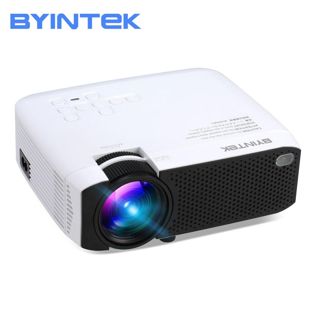 2018 BYINTEK CIEL F17 Mini LED Portable Home Cinéma HD Projecteur