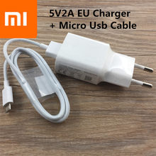 5V2A original XIAOMI adapter EU plug Wall Travel phone charger+micro USB data sync For Mi a2 2 3 4 Redmi 3 3s 4 5 Note 3 4 5 Max(China)