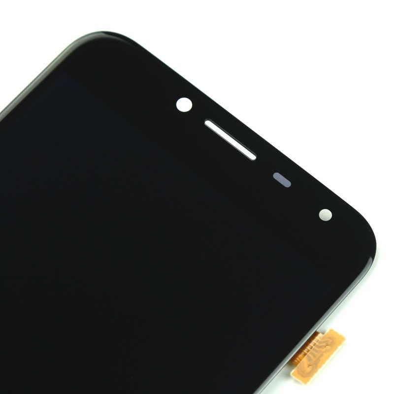 Oem 三星 J4 2018 Lcd ディスプレイデジタイザタッチスクリーンアセンブリと AMOLED サムスン J400 J400F J400G 液晶画面